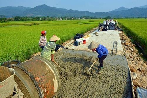 Provincia norvietnamita de Dien Bien acelera construccion de areas rurales de estilo nuevo hinh anh 1