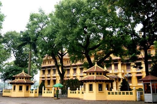 Casa de cien techos, reliquia nacional en el seno de Hanoi hinh anh 1