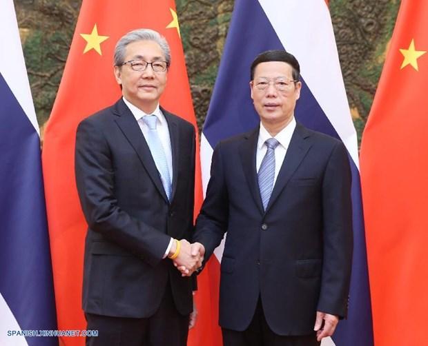 Tailandia y China impulsan cooperacion en comercio e inversion hinh anh 1