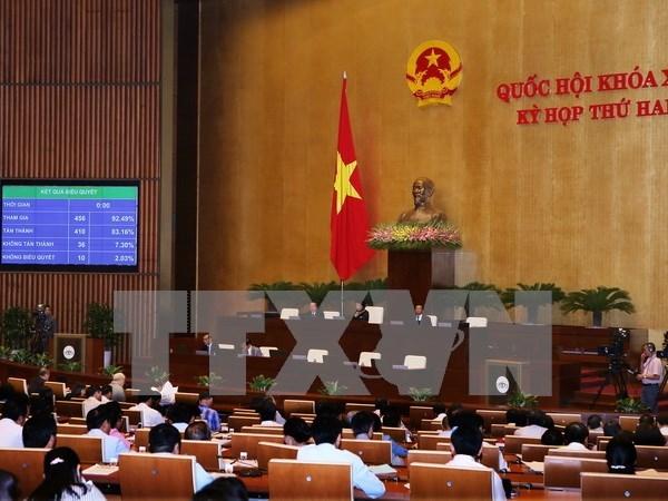 Anuncian tres leyes recien aprobadas por Asamblea Nacional de Vietnam hinh anh 1