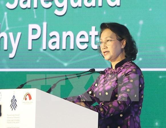 Vietnam: La mujer es motor de proteccion ambiental en cualquier pais hinh anh 1
