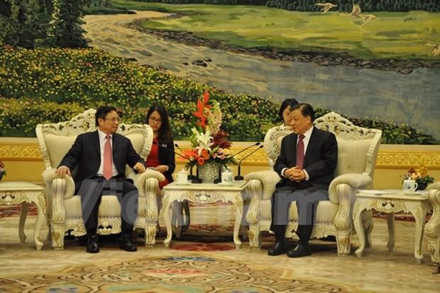 Vietnam desea reforzar amistad tradicional y cooperacion integral con China hinh anh 1