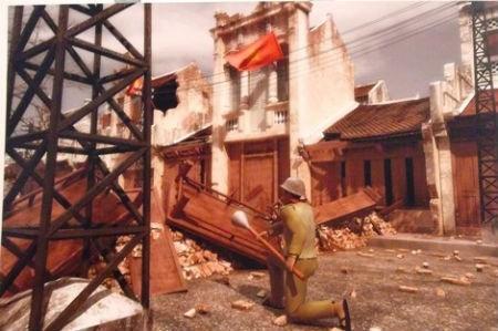 Efectuan en Hanoi exposicion sobre Dia de la Resistencia vietnamita hinh anh 1