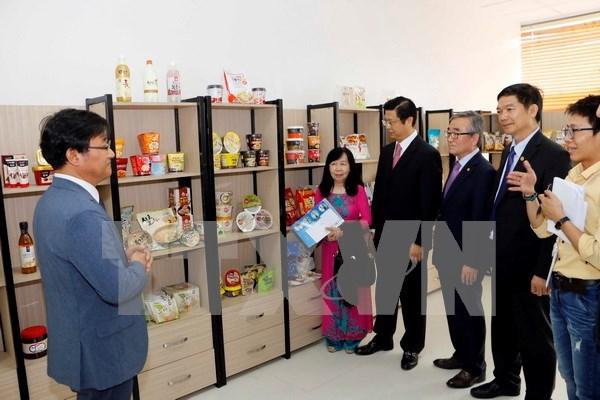 Asociacion sudcoreana de Alimentos y Arroz abre oficina en Vietnam hinh anh 1