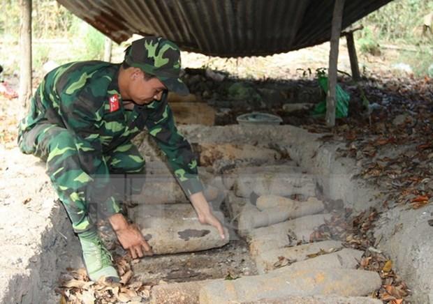 Aumentan cooperacion internacional en apoyo a victimas de bombas en Vietnam hinh anh 1
