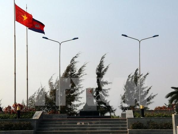 Provincias de Vietnam y Camboya refuerzan lazos mediante intercambios artisticos hinh anh 1