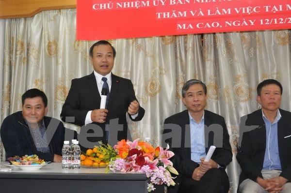 Vietnam presta especial atencion a ciudadanos residentes en Macau, afirma vicecanciller hinh anh 1