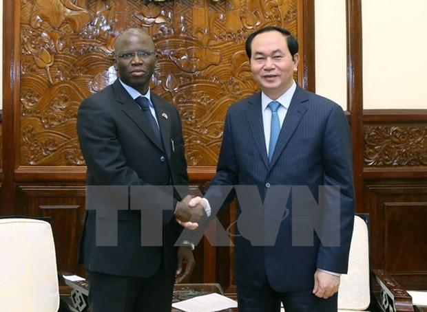 Presidente vietnamita insta a BM a elaborar marco de Estrategia de Asociacion con el Pais hinh anh 1