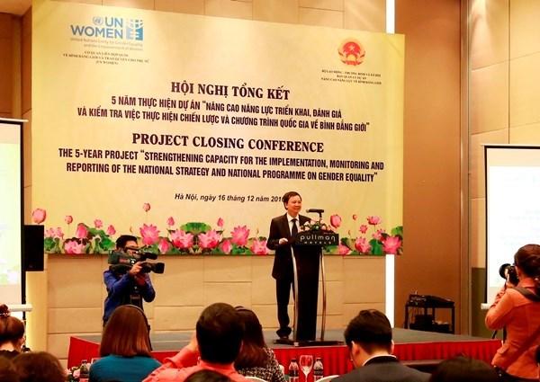 Vietnam y ONU Mujeres colaboran por impulso de igualdad de genero hinh anh 1