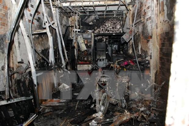Incendio en Ciudad Ho Chi Minh provoca seis muertos y cinco heridos hinh anh 1