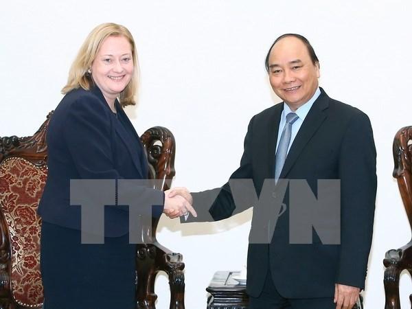 Irlanda se compromete a acelerar el TLC entre Vietnam y la Union Europea hinh anh 1