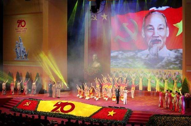 Conmemoran en Hanoi aniversario 70 del Dia de Resistencia Nacional hinh anh 1
