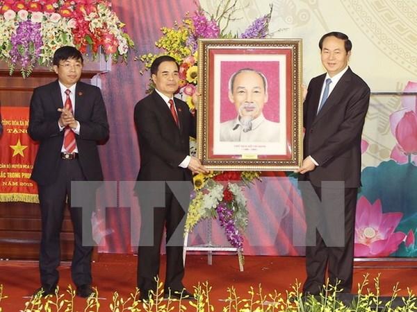 Hoa Lu, primero distrito rural de nuevo estilo de Vietnam hinh anh 1
