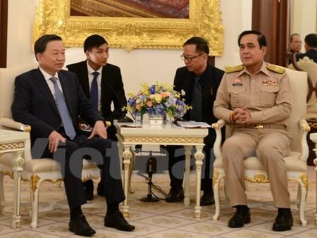 Vietnam y Tailandia refuerzan lazos en seguridad publica hinh anh 1