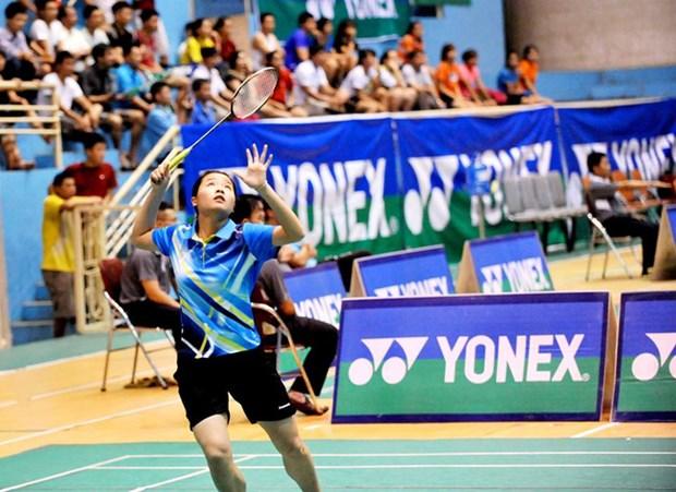 Vietnam gana campeonato de badminton en Nepal hinh anh 1