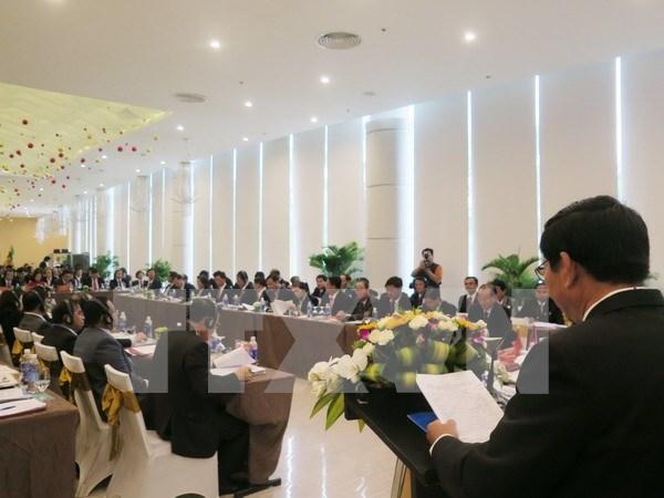 Inauguran conferencia entre tribunales de provincias fronterizas de paises indochinos hinh anh 1