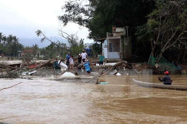 Recaudan fondos a favor de afectados por desastre natural en Vietnam hinh anh 1