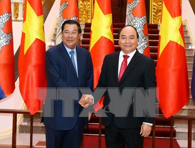 Destaca prensa camboyana visita a Vietnam de Hun Sen hinh anh 1