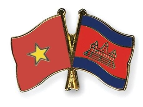 Provincias de Vietnam y Camboya firman nuevo acuerdo de cooperacion hinh anh 1