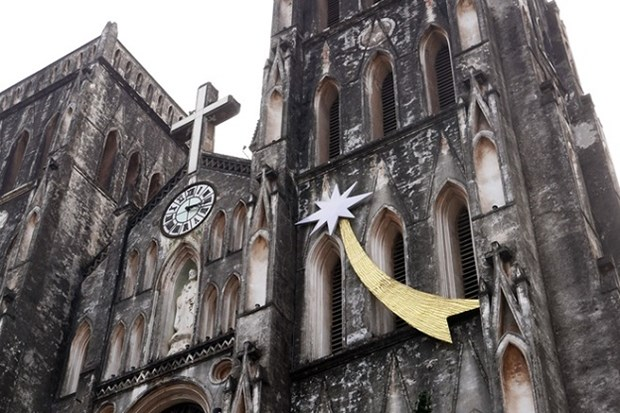 Felicitaciones a comunidades cristianas vietnamitas por Navidad hinh anh 1