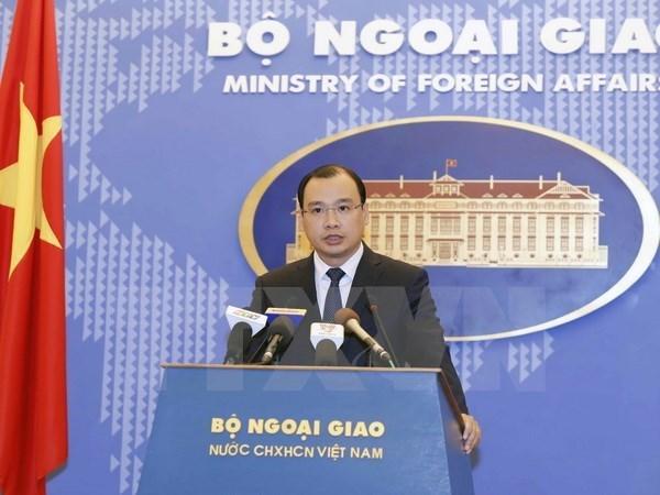 Apertura de ruta aerea de China a Hoang Sa viola la soberania de Vietnam hinh anh 1