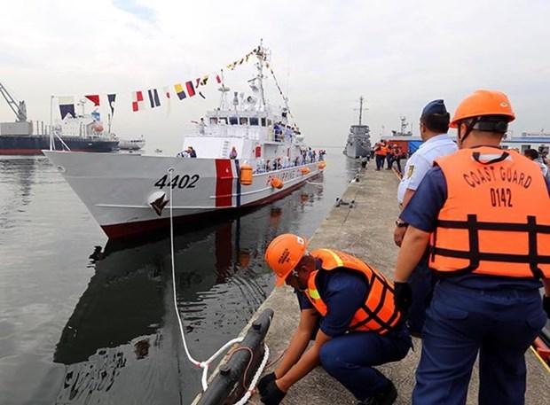 Filipinas recibe el segundo barco patrullero de Japon hinh anh 1