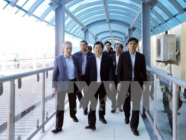 Destacan papel del sector ferroviario en reestructuracion de medios de transporte hinh anh 1