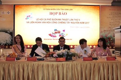 Celebraran sexto festival de cafe Buon Ma Thuot en marzo de 2017 hinh anh 1