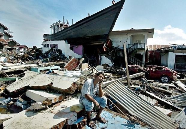 Indonesios recuerdan desastre de tsunami en Aceh hinh anh 1