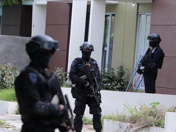 Elimina Indonesia a dos sospechosos de terrorismo hinh anh 1