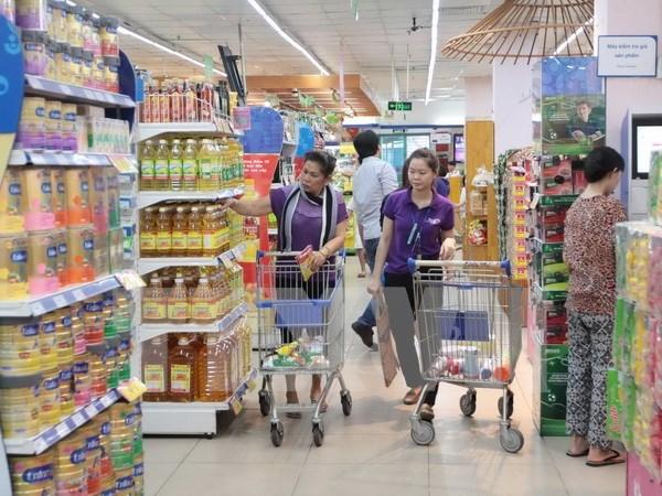 Leve reduccion de IPC de Hanoi en diciembre hinh anh 1
