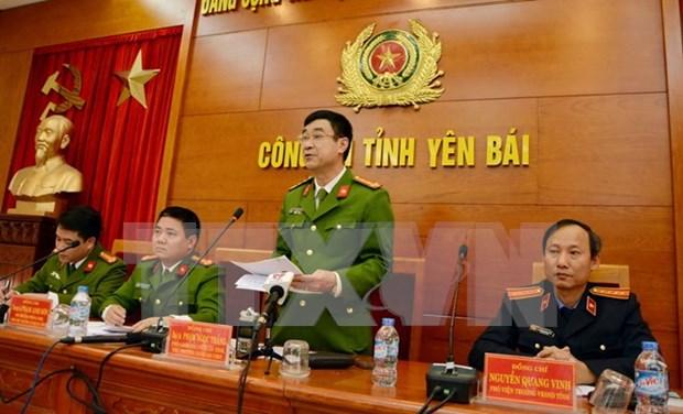 Publican resultado de investigacion sobre ataque contra funcionarios en Yen Bai hinh anh 1