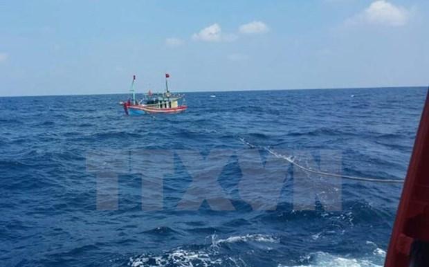 Buscan a pescadores vietnamitas desaparecidos en el mar hinh anh 1