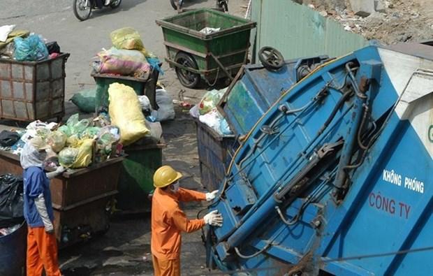 Inauguran planta de tratamiento de residuos industriales en provincia de Vietnam hinh anh 1