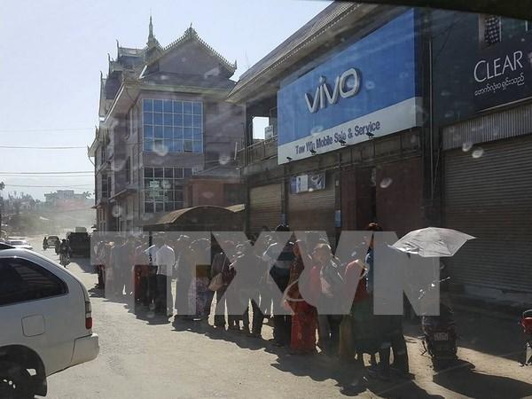 Ejercito de Myanmar toma posesion de mas puestos rebeldes hinh anh 1