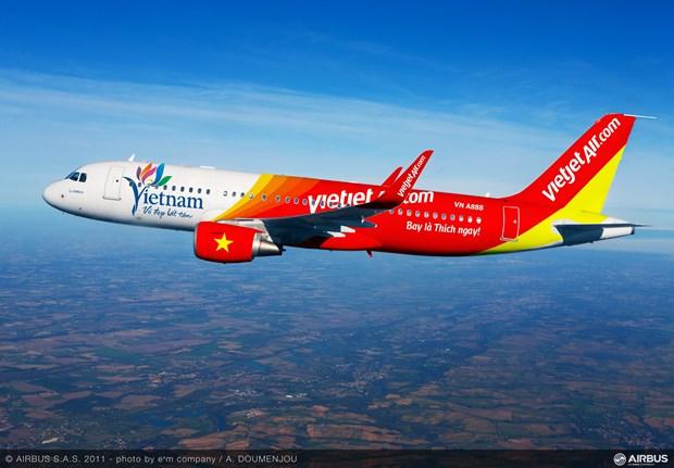 Vietjet Air ofrece boletos promocionales a menos de un dolar hinh anh 1