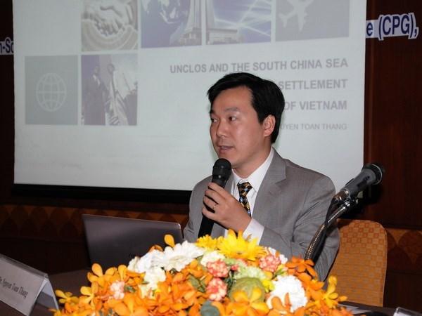 Vietnam reitera en Tailandia postura sobre Mar del Este hinh anh 1