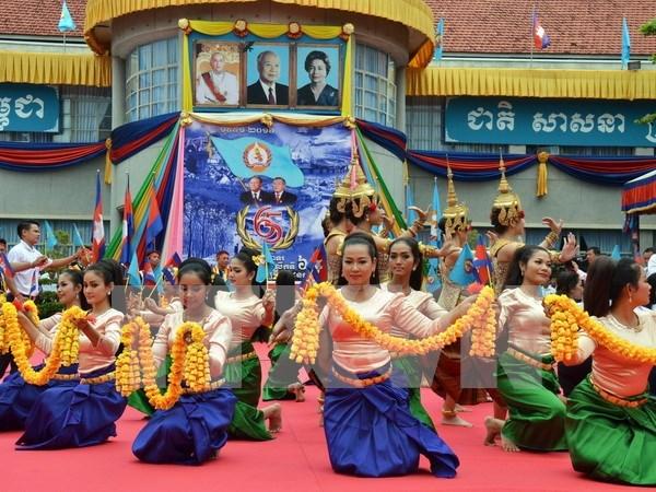 Efectuan en Camboya Festival Cultural ASEAN-China hinh anh 1