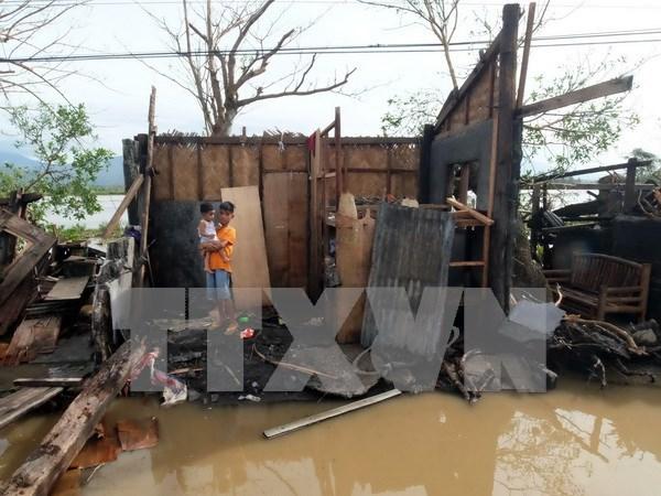 Filipinas sufre grandes perdidas por tifon Nock-Ten hinh anh 1