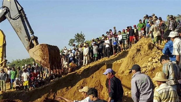 Accidente en Myanmar causa 20 muertos hinh anh 1