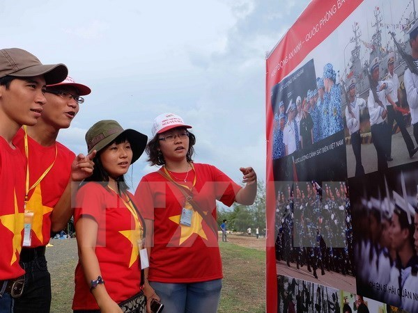 Exhiben muestras de soberania vietnamita sobre Hoang Sa y Truong Sa hinh anh 1