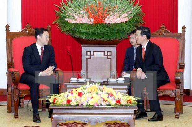 Partido Liberal Democratico de Japon atesora lazos con Vietnam hinh anh 1
