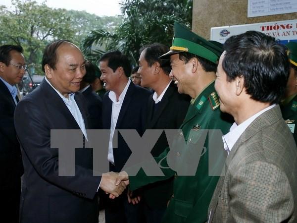 """Premier de Vietnam: """"Puertos maritimos son el corazon de la economia"""" hinh anh 1"""