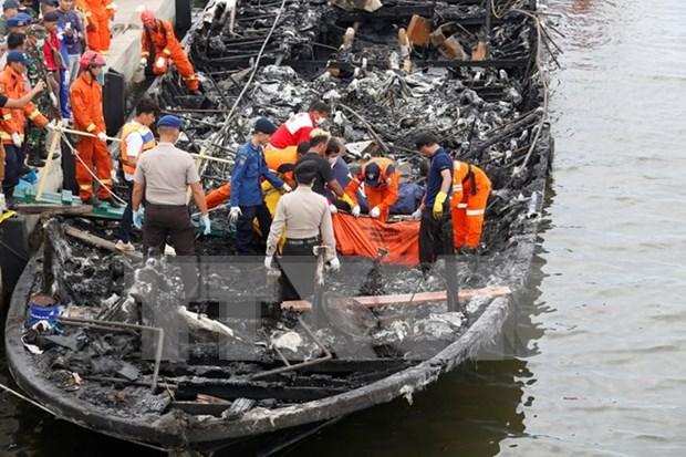 Indonesia: Problema mecanico puede provocar incendio en ferry hinh anh 1