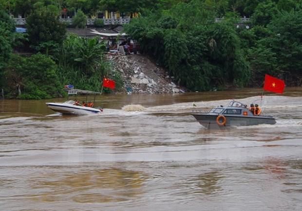 Localidades fronterizas de Vietnam y China realizan patrullaje conjunto hinh anh 1