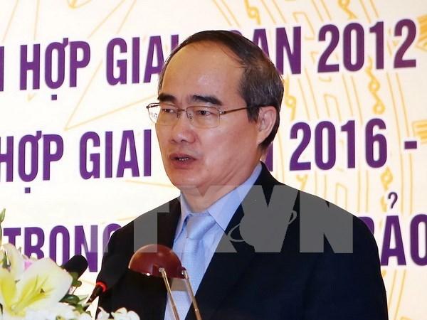 Confirmado papel de unidad nacional en desarrollo de Vietnam en nueva coyuntura hinh anh 1