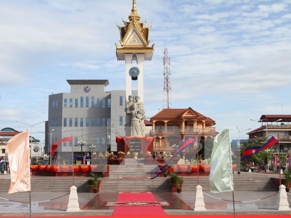 Finalizan restauracion de monumentos de amistad Vietnam – Camboya hinh anh 1