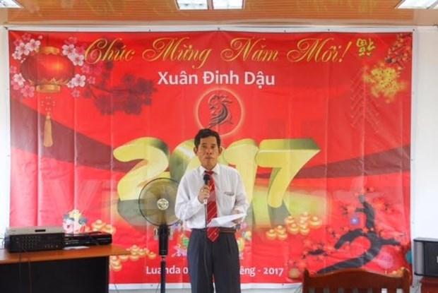 Vietnamitas en Angola festejan Ano Nuevo hinh anh 1