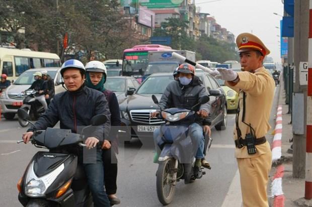 Despliegan Ano de Seguridad Vial 2017 en Vietnam hinh anh 1