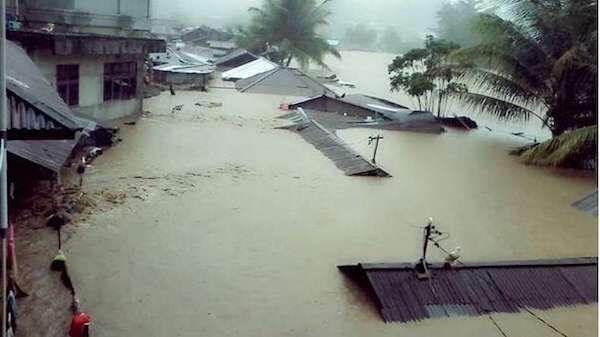 Malasia: Intensas lluvias afectan a miles de personas hinh anh 1